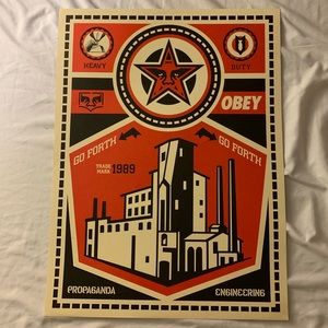 Original Obey Poster 24x18 inches